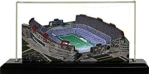 Tennessee Titans LP Field, Small Lighted in Display Case