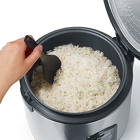 Severin 2425 Cuit-riz Noir//Inox Bross/é 3 L 650 W
