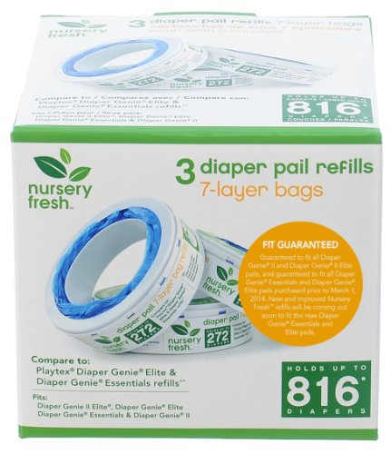Munchkin Nursery Fresh Diaper Pail Refill