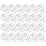 : 72 Plastic Tablecloth Clips (Receive 72 Per Order) (CLEAR, 1)