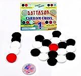 STC Dattason 6MM Acrylic Carrom Coins