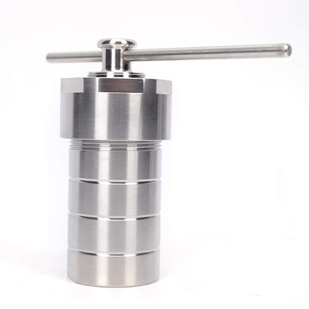 WUPYI 100ml Hydrothermal Synthesis Autoclave Reactor in 230℃3Mpa,304 Stainless Steel,PTFE Lined Vessel