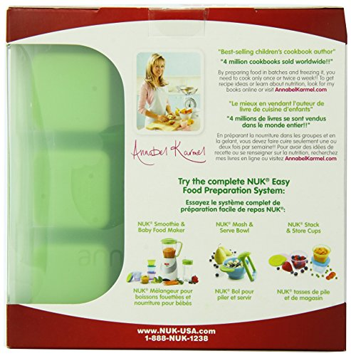Amazon.com : Homemade Baby Food Bandeja Congelador Flexible y Tapa Set : Baby