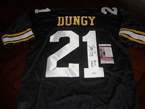 (Tony Dungy Autographed Jersey - Sb Xiii Champs coa - JSA Certified - Autographed NFL Jerseys)