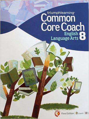 Book Common Core Coach English Language Arts 8