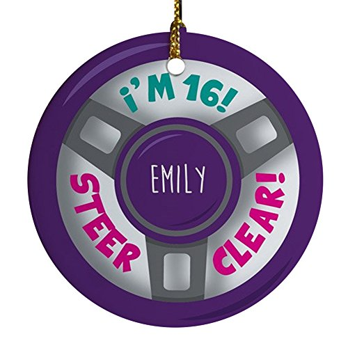 GiftsForYouNow Driver Personalized Christmas Ornament, 2.75