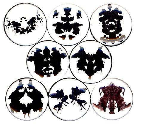 Rorschach Inkblot Costume (Rorschach Test 8 NEW 1