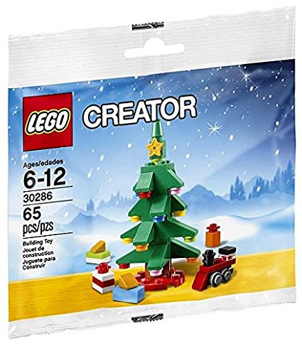 Amazon.com: LEGO Creator Christmas Tree 30286, Holiday 2015: Toys ...