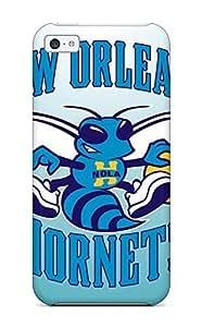 Hot SlSmfvW753lZUDh Case Cover Protector For Iphone 5c- Basketball Nba New Orleans Hornets WANGJING JINDA