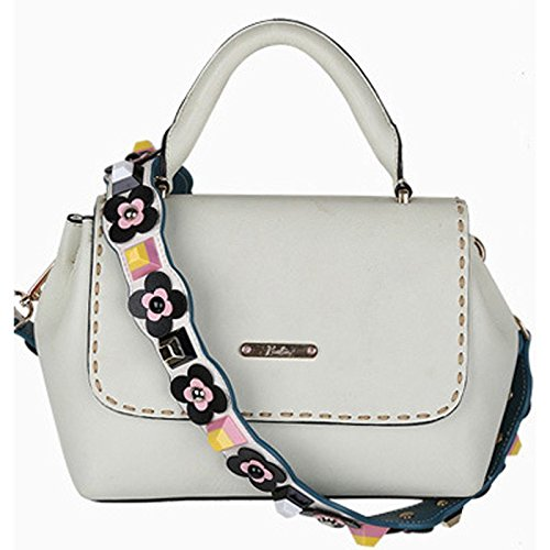 D Shoulder Strap Purse Replacement For Embroidery Bag Flower Handbags Donalworld tgq7zz