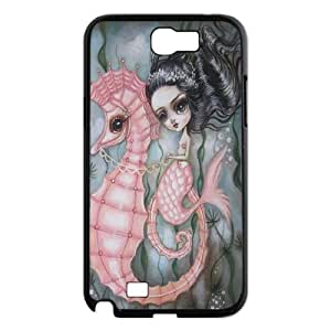 Hjqi - Personalized Mermaid Plastic Case, Mermaid Unique Back Case for Samsung Galaxy Note 2 N7100