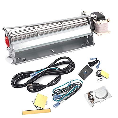 BBQ-Element GFK4 GFK4A FK4 Replacement Fireplace Blower Fan Kit for Heatilator Majestic Temco Lennox Fireplaces, Rotom HB-RB74K, R7-RB74K (Heatilator Insert)