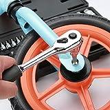 "Renekton Master Hex Bit Socket Set Allen Wrench Bit Kit, 1/2"" 3/8"" 1/4"" Drive, SAE and Metric, S2 Steel, 34-Piece, Automotive Bike Motorcycle and ATV"
