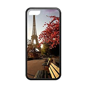 eiffel tower park personalized high quality cell phone case for Iphone 5/5s