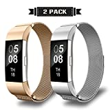 AIUNIT Fitbit Charge2 Bands, Alta HR Milanese Loop...