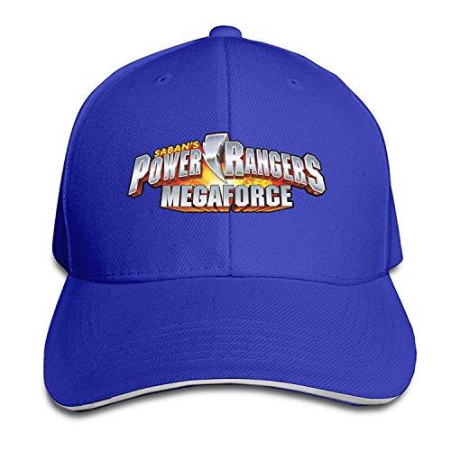 Power Rangers Snapback Sandwich Peaked Baseball Cap Hat