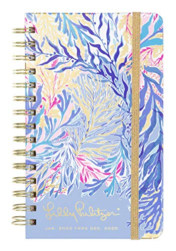 Lilly Pulitzer Medium 2020 12-Month Annual Hardcover Planner with Daily, Weekly, Monthly Spreads for Jan. 2020 - Dec. 2020, 8.25