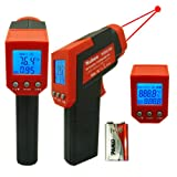 Nubee® 8550H Dual Laser Instant-read IR Infrared Thermometer Non-contact Temperature Gun Emissivity Adjustable