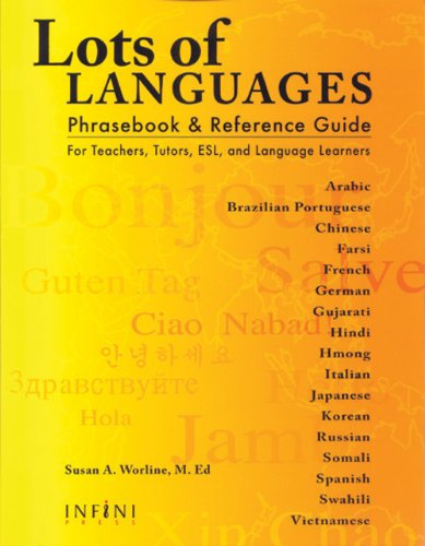 Lots of Languages Phrasebook & Reference Guide (Multilingual Edition) by Brand: Infini Press