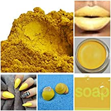 5 Oz YELLOW Iron Oxide Basic Soap & Cosmetic Pigment Powder Arts Crafts 5 ounces Color Ingredient