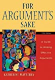 For Argument's Sake 5th Edition