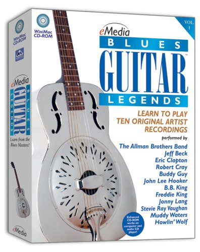 eMedia Blues Guitar Legends [Old Version] by eMedia