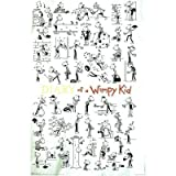 Diary of a Wimpy Kid (Doodles) Art Poster Print