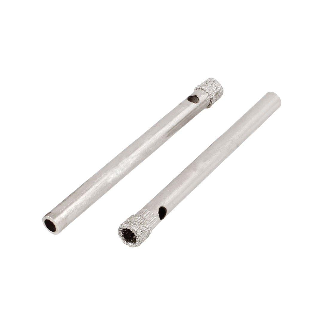 4mm diamond twist drill bit - Uxcell Diamond Tool Drill Bit Ceramic Tile Glass Hole Saw 4mm 5 32 2 Pcs Hole Saw Arbors Amazon Com