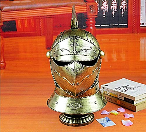 URL Vintage Roman Armor Samurai Helmet Iron Decoration