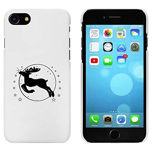Blanc 'Rudolph le Renne' étui / housse pour iPhone 7 (MC00061018)