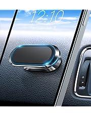 【Geüpgrade 8 sterke magneten】 Autotelefoon houder magnetische met 360 ° rotatie, universele magnetische mobiele telefoon houders Air Vent Cradle, compatibel met iPhone 12 11 XS Samsung S20 S10 note 9
