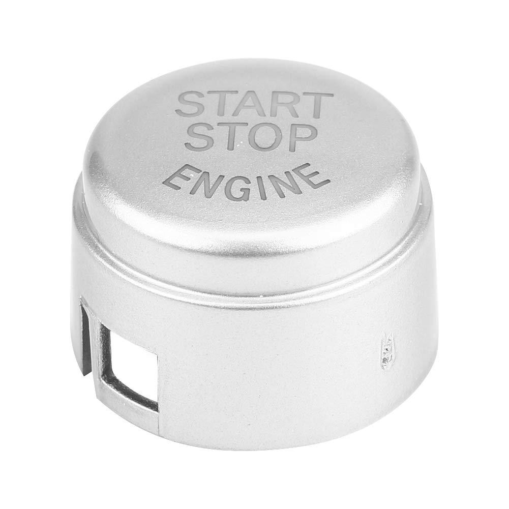 F//G-Scheibe unten ohne Start und Stopp Auto Motor Start Stop Schalter Knopfabdeckung f/ür F//G//E Chassis
