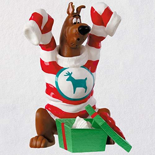 (Hallmark Keepsake Christmas Ornament 2018 Year Dated, Scooby Doo An Oversize Surprise, Scooby-Doo )
