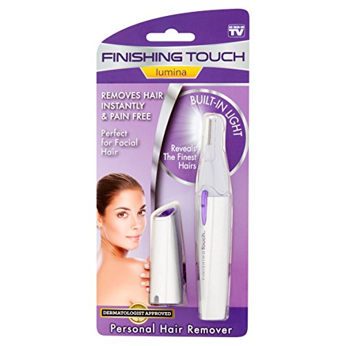New! As seen on TV Finishing Touch Lumina Personal Hair Remover With Built In Light