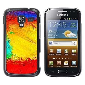 TECHCASE**Cubierta de la caja de protección la piel dura para el ** Samsung Galaxy Ace 2 I8160 Ace II X S7560M ** Landscape Geography Structure Colors Artwork