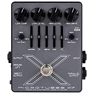 Darkglass Microtubes X7 Multiband Bass Distortion Pedal w/Advanced Crossover & E