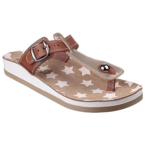 Fantasy Naxos Womens Sandals Peat/Tan aqJR1shS
