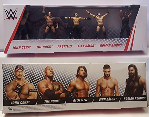 John Cena Party (WWE Collector 5 Pack Set of 2.5