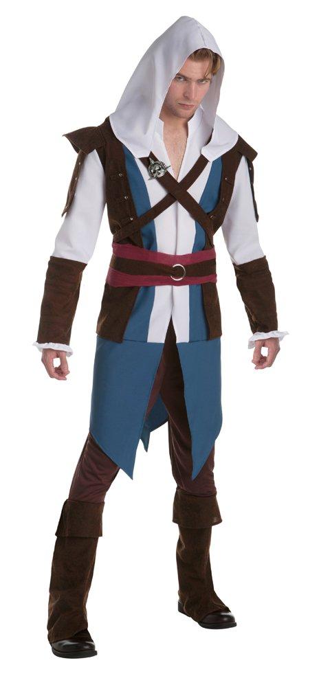 Bristol Novelty AF046 Edward Kenway Kostüm