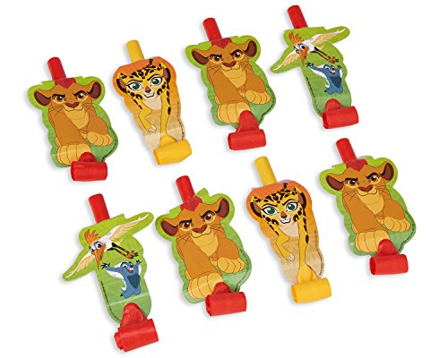 American Greetings Lion Guard Party Blowouts, 8-Count by American Greetings