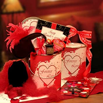 Amazon Com Sexy And Sweet Couples Valentine S Day Gift Basket