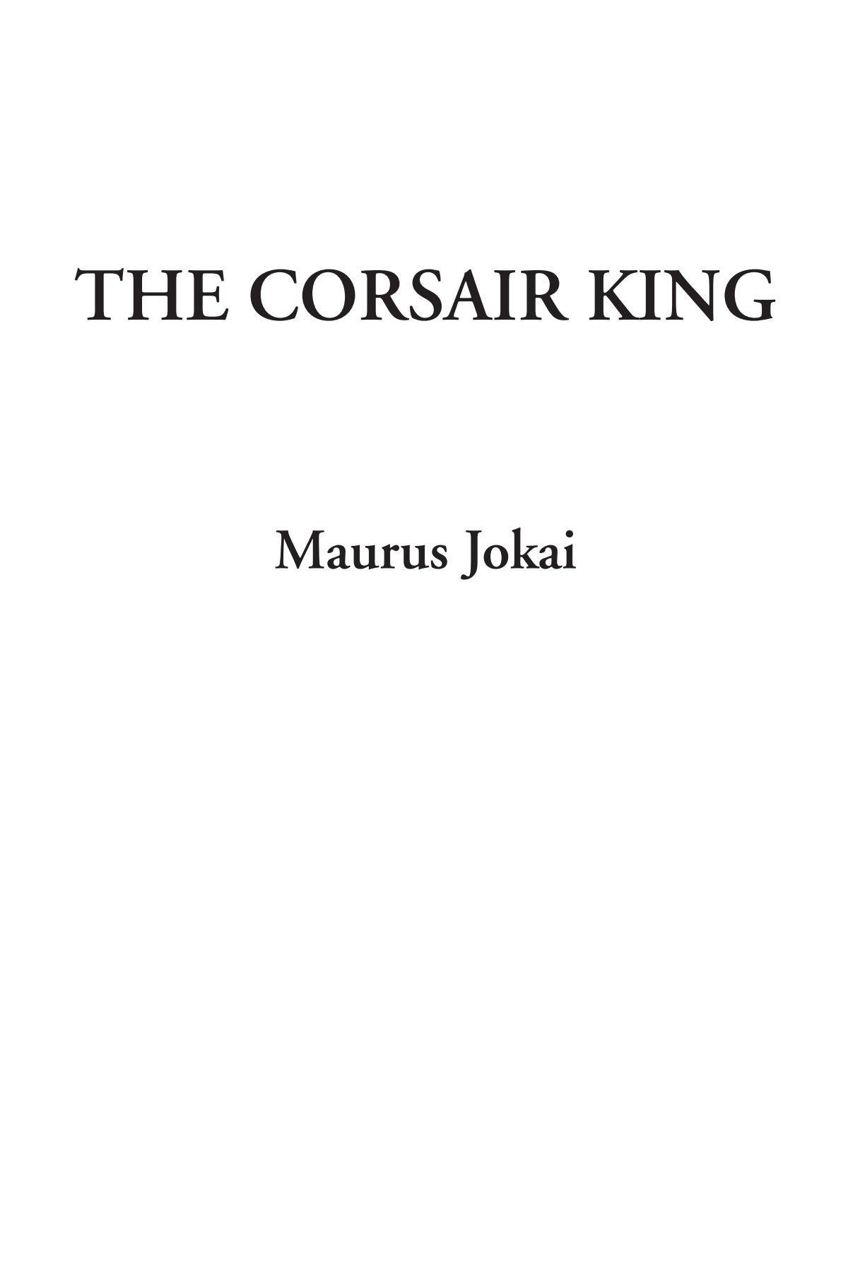 The Corsair King pdf