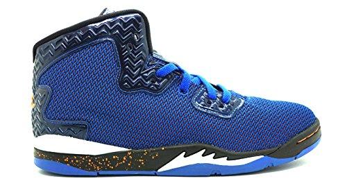 [807544-405] AIR Jordan Spike Forty BP PRE-School Sneakers AIR JORDANGAME Royal/TTL ORNG White BLKM