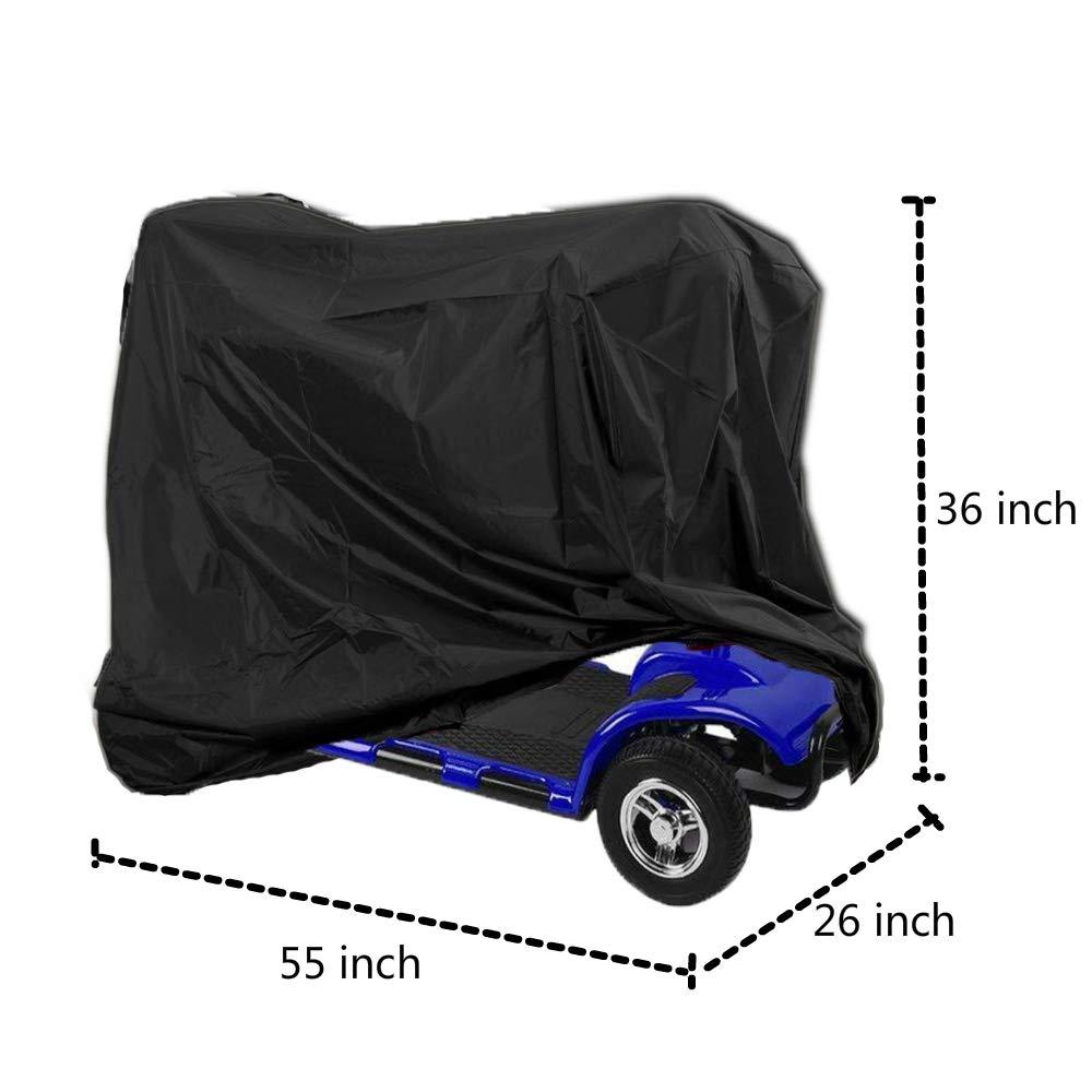 Amazon.com: Funda de almacenamiento para silla de ruedas ...