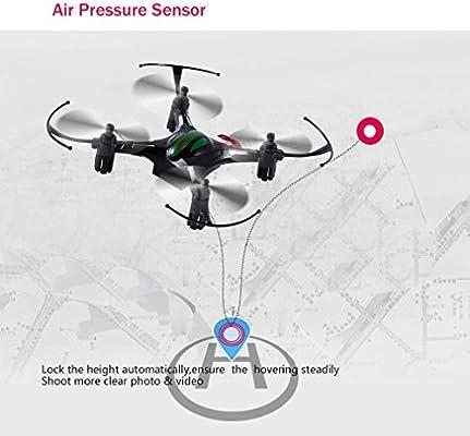 Mini RC Quadcopter, FPVRC K8 2.4G 4 CH Nano Drone con modo ...