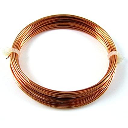 Wright DIY Bare Copper Wire for Science Projects (Simple Electric ...