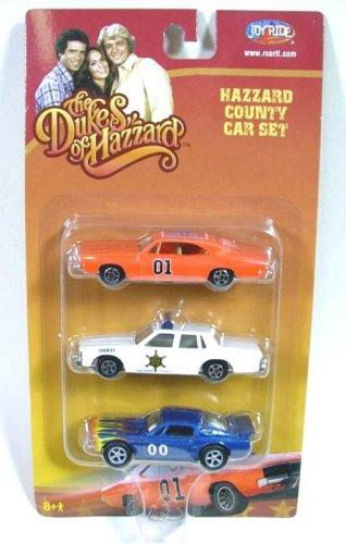 Amazon Dukes Of Hazzard 3 Car Die Cast 164 Model General Lee Set Toys Games