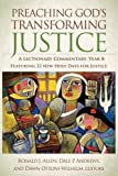 img - for Preaching God's Transforming Justice: A Lectionary Commentary, Year B book / textbook / text book