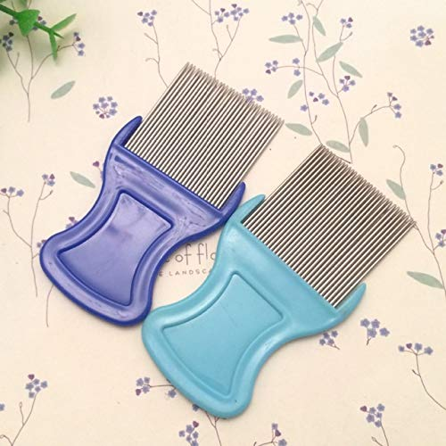 Dog Combs - Stainless Pin Flea Dirt Dust Remover Dog Cat Grooming Louse Comb Pet Hair - Positron Emission Tomography Favourite Dearie Preferred Favored Coxcomb Favorite Ransack - 1PCs