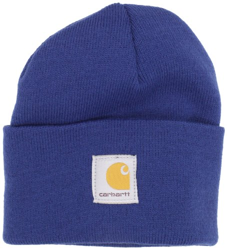 Carhartt Men's Acrylic Watch Hat A18, Dark Cobalt Blue (Closeout), One ()